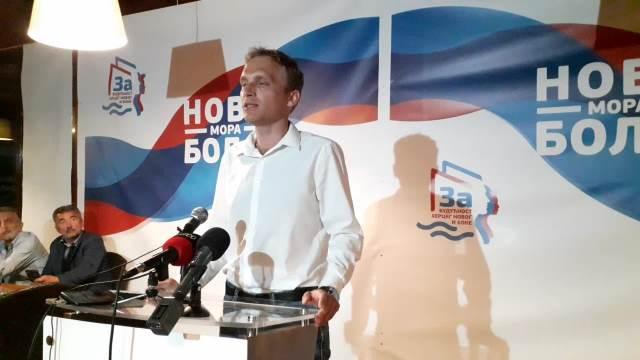 Ivan Otović, izborni štab liste Za budućnost Herceg Novog