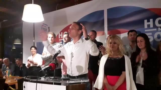 Slavlje u izbornom štabu liste Za budućnost Herceg Novog
