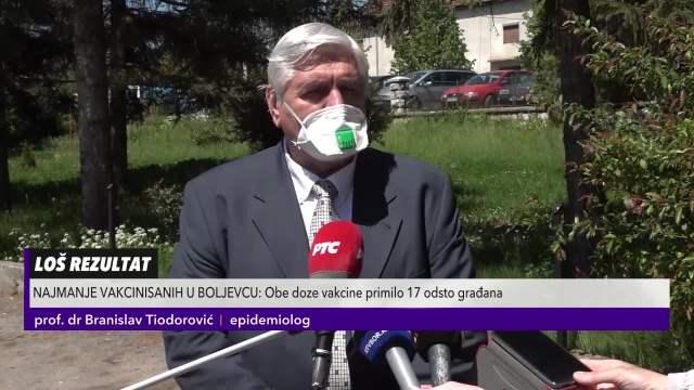 U Boljevcu najmanji obuhvat revakcinisanih građana