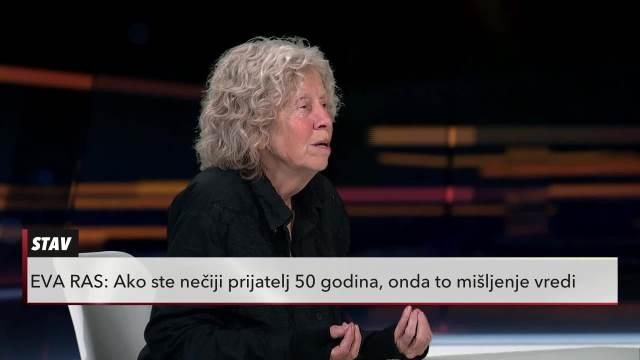 EVA RAS BRANI ALEKSIĆA: On je učitelj, ja verujem tom zanimanju!