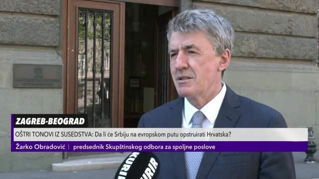 Žarko Obradović odgovorio na hrvatske provokacije
