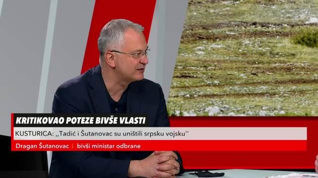 DRAGAN ŠUTANOVAC U REDAKCIJI: Ja znam više o Kusturičinim filmovima, nego on o vojsci!