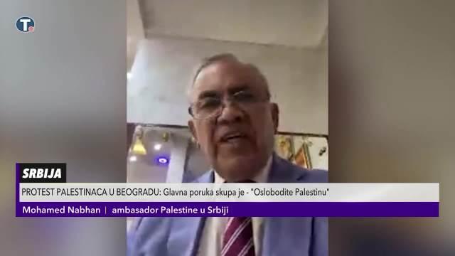 Palestinski ambasador u Srbiji