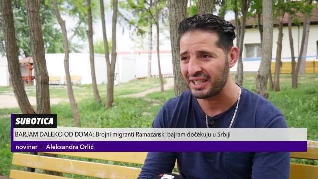 Migranti proslavili Bajram daleko od doma