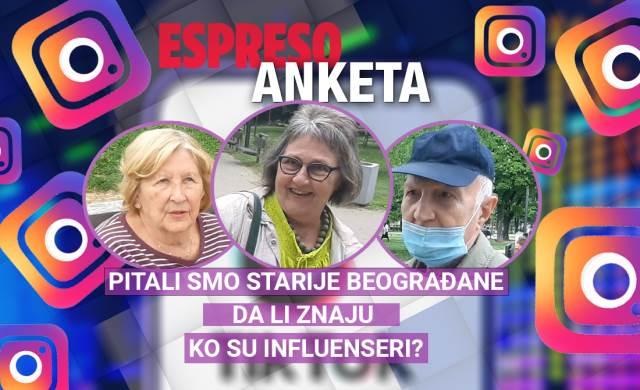 ESPRESO ANKETA: Pitali smo starije Beograđane da li znaju ko su influenseri?