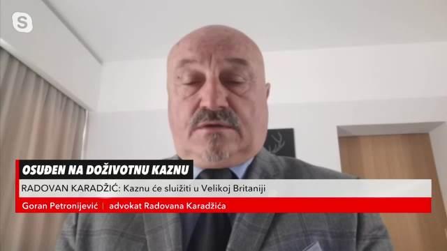 ADVOKAT RADOVANA KARADŽIĆA ZA KURIR: Odluka o premeštanju je prvi korak u njegovom UBISTVU!