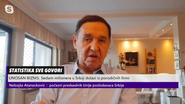 UNOSAN BIZNIS: Sedam milionera u Srbiji dolazi iz porodičnih firmi!