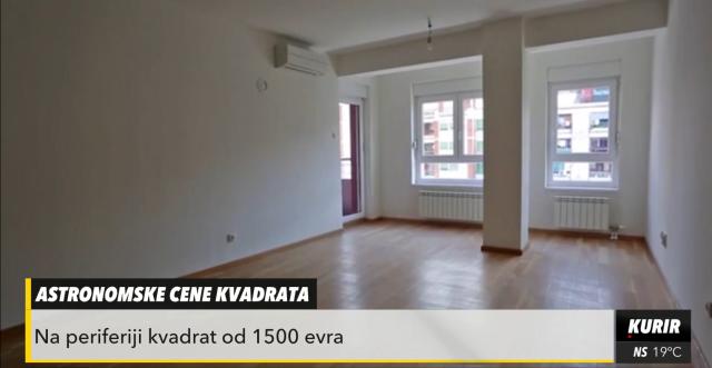 Raste cena nekretnina u Srbiji