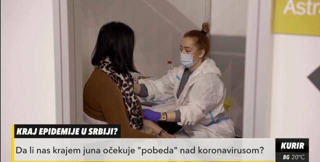 Kraj epidemije u Srbiji sredinom juna