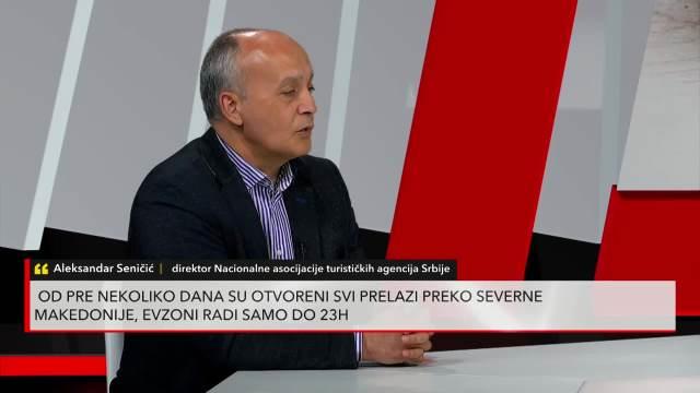 Aleksandar Seničić u Redakciji Kurir televizije: Evo kada možete zameniti vaučere od letovanja za novac