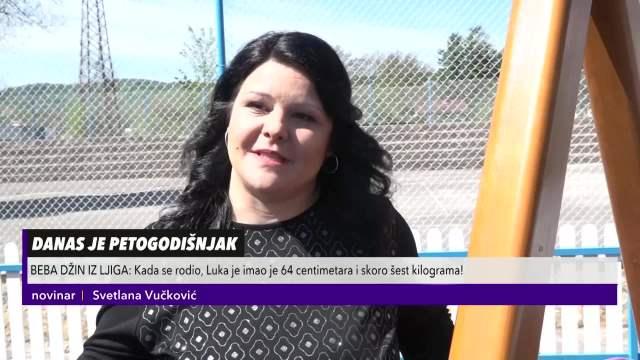 PAMTITE LI LUKU, BEBU-DŽINA IZ LJIGA: Na rođenju imao skoro 6 kg, a danas je veseli 5-godišnjak!