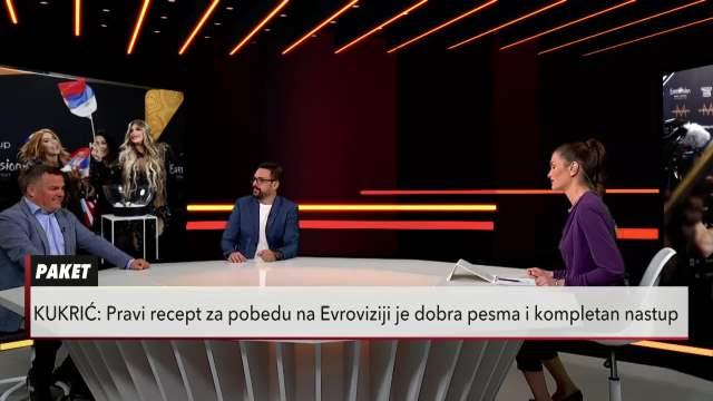 EUROSONG IZMEĐU ŠOU PROGRAMA I POLITIKE: Dejan Kukrić i Nenad Vuković u Usijanju dana