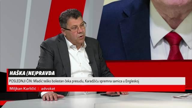 MILJKAN KARLIČIĆ, ADVOKAT: Država Hrvatska je investirala u lobiranje i ODBRANU hrvatskih generala MILIONE EVRA!