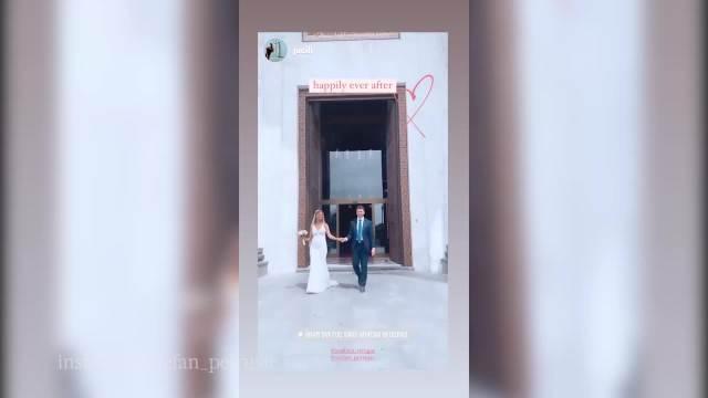 POBEDNIK ZVEZDA GRANDA VENČAO SE U CRKVI! Zapevao na sopstvenoj svadbi, a TRUDNA MLADA zablistala u VENČANICI! (VIDEO)