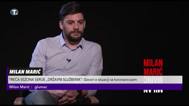 MILAN MARIĆ ZA KURIR OTKRIO DETALJE NOVOG FILMA O TOMI I HIT SERIJE: Pandemija je tema treće sezone Državnog službenika!