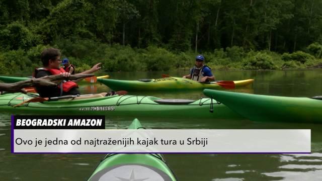 Amazon usred Beograda