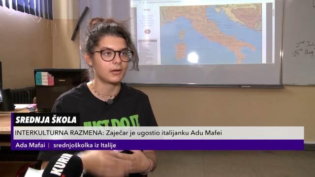 Italijanka na učeničkoj razmeni odabrala Boljevac