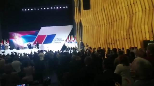 UŽIVO GO SNS Vučić: Jednoglasno i aplauzom pozdravljeno ujedinjenje sa Šapićem! Srbija će da se pita, a ne stranci