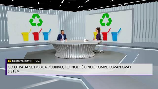 DUŠAN VASILJEVIĆ U PULSU SRBIJE O GIZOVOM PROJEKTU: Važno je da naučimo građane da selektuju otpad