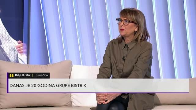 GRUPA BISTRIK SLAVI 20 GODINA POSTOJANJA: Bilja Kristć u Pulsu Srbije otkrila planove za budućnost, pa najavila i poslednji album