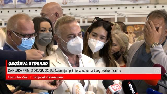 Italijanski milioner Đanluka ponovo u Beogradu na vakcinaciji