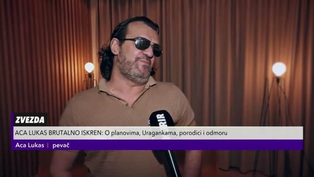 LUKAS BRUTALNO ISKREN: Super sam sa Uragankama, a evo šta je rekao o Oliveri Kovačević i Mariji Šerifović! Pomenuo je i Sonju
