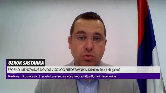 RADOVAN KOVAČEVIĆ U PULSU SRBIJE: Šta je pozadina ostavke Valentina Incka i imenovanja Kristijana Šmita