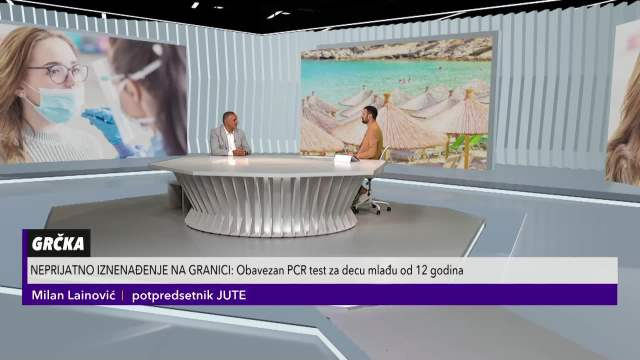 MILAN LAINOVIĆ, POTPREDSEDNIK JUTE: Značila bi nam manja cena PCR testa, to nam je veliki problem koji pokušavamo da rešimo!
