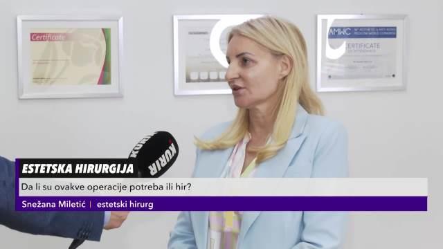 DOKTORKA SNEŽANA MILETIĆ O LIPOSUKCIJI: U Srbiji je ovo jako popularna operacija, pogotovo kod muškaraca!