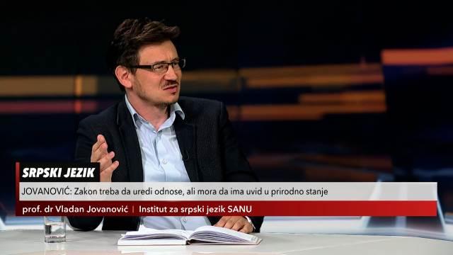 RODNA RAVNOPRAVNOST U JEZIKU! Prof. Jovanović u Usijanju dana: To je ideološki stav, ne stvar gramatike!