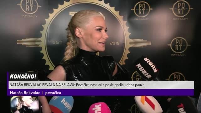 PRVI NASTUP NAKON KORONE: Nataša Bekvalac SAVRŠENA! Nastupila posle godinu dana pauze!