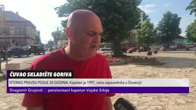 STIGLA PRESUDA NAKON 30 GODINA! Kapetan Dragomir Grujović na Kurir televiziji: Osobođen OPTUŽBE da je počinio ratni zločin 91