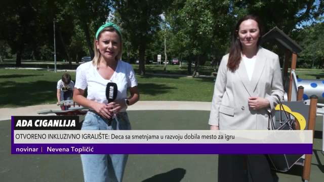 U Beogradu otvoreno prvo inkluzivno igralište za decu sa smetnjama u razvoju