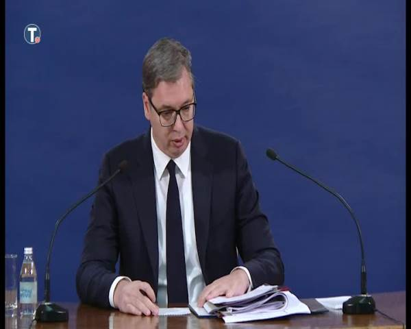 Vučić: Šteta u Slobodi između 1,5 i dva miliona evra
