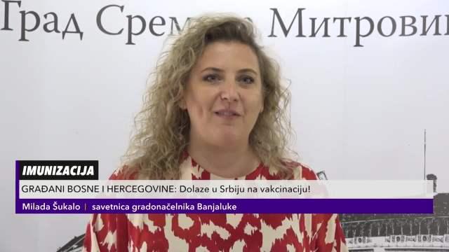 BOSANCI SE NA SAV GLAS ZAHVALJUJU: Samo u Sremskoj Mitrovici vakcinisano više od 200 Banjalučana!