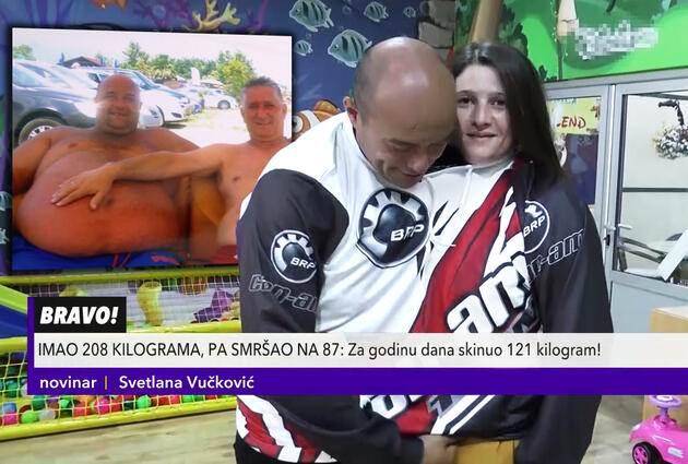 Vladmir Vuković smršao 121 kilogram za godinu dana