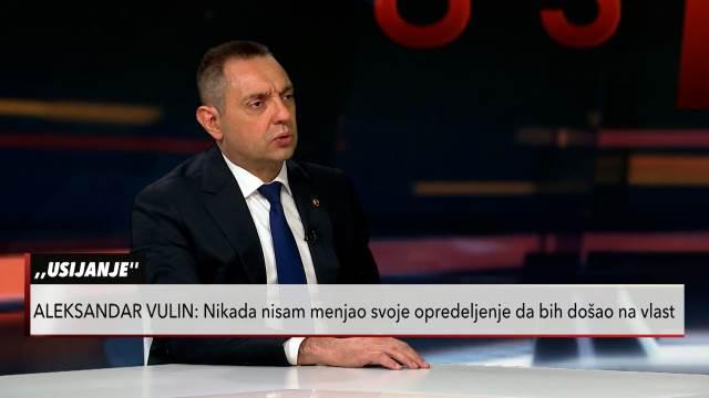 Vulin o hapšenju Aleksandra Jovičića