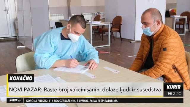 VAKCINACIJA GRAĐANA U NOVOM PAZARU!