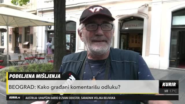 TO JE BAGRA! NAJMANJE JE PRAVDA RADILA, ČISTA POLITIKA: Beograđani razočareni posle čitanja presude Ratku Mladiću
