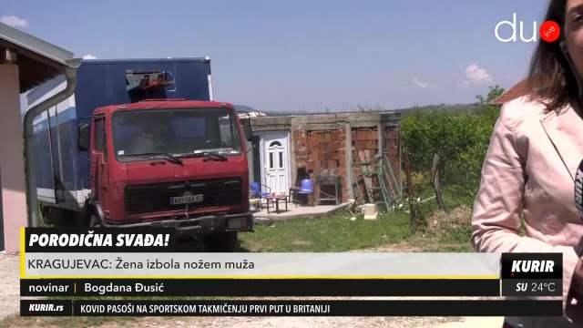 Žena nožem izbola muža kod Kragujevca