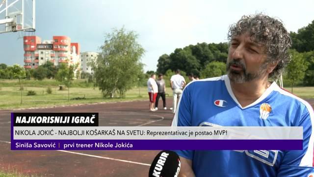 KURIR TELEVIZIJA U JOKIĆEVOM SOMBORU: Ovo je 1. teren na kome je zaigrao basket i prvi trener našeg MVP