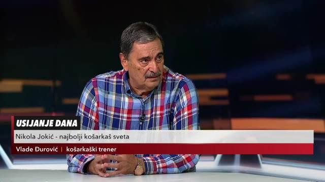 ĐUROVIĆ: Jokićev uspeh bih merio sa uspesima Novaka Đokovića