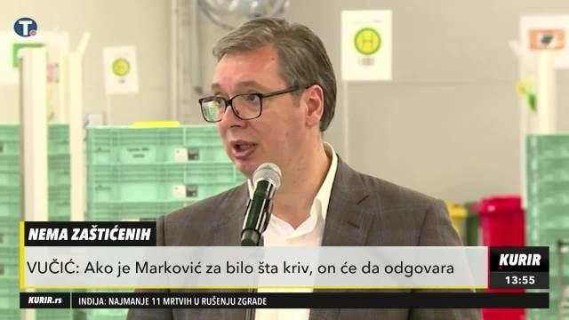 Aleksandar Vučić o Draganu Markoviću Palmi
