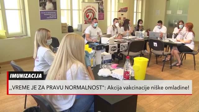 Niš prvi po broju mladih vakcinisanih