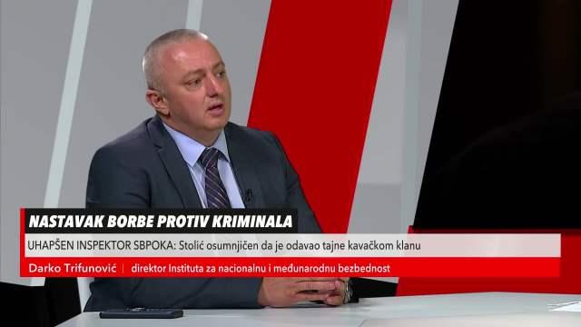 DARKO TRIFUNOVIĆ O HAPŠENJU INSPEKTORA SBPOK