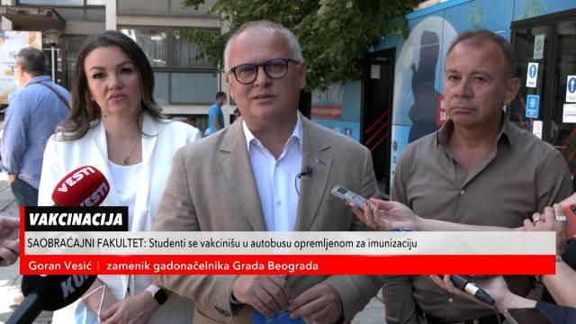 Beograd danas prelazi 650.000 revakcinisanih