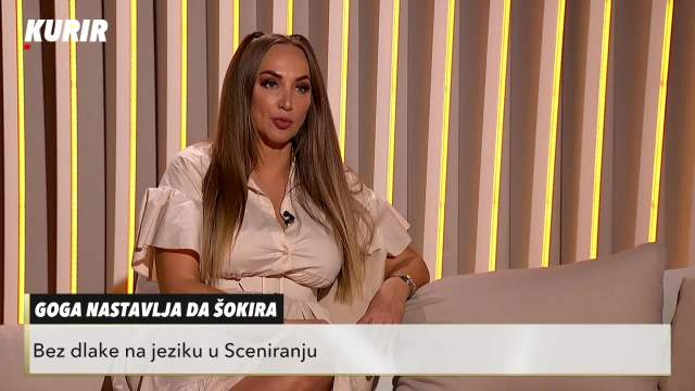 Goga Sekulić u Sceniranju: Prodala sam kola da bih isplatila pesmu