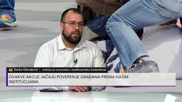 DARKO OBRADOVIĆ U PULSU SRBIJE O HAPŠENJU INSPEKTORA SBPOK