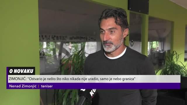 NENAD ZIMONJIĆ: Novak Đoković može da osvoji zlatni slem