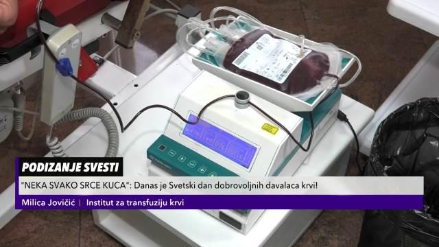 SVETSKI DAN DAVALACA KRVI: Institut pun dobrovoljaca, a ovo je što treba da znate o transfuziji!
